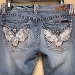 MISS ME JEANS  SIZE 30 in Good Condition
